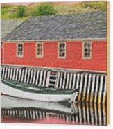 Trinity Bay Digital 2 Wood Print