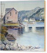Trinity Bay Nfld Wood Print