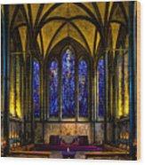 Trinity Chapel Salisbury Cathedral Wood Print