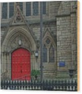 Trinity Episcopal Cathedral Wood Print