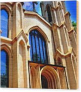 Trinity Episcopal Cathedral Columbia Sc Wood Print