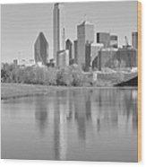 Trinity River Panorama Wood Print