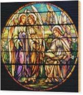 Trio Of Angels Wood Print