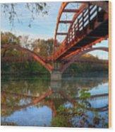 Triple Bridge Wood Print