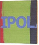 Tripolar Wood Print