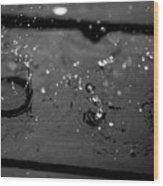 Tripple Splash Wood Print