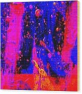 Triptych 2 Cropped Wood Print