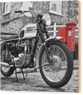 Triumph Bonneville 1963 Wood Print