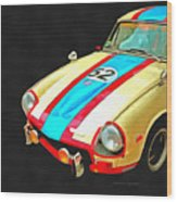 Triumph Gt Pop Art Wood Print