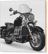 Triumph Rocket IIi Motorcycle Wood Print
