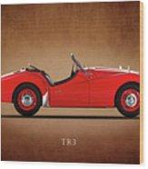 Triumph Tr3a 1959 Wood Print