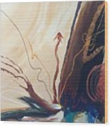 Triumphant Wood Print