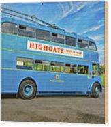 Trolleybus 862 Wood Print