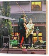 Trombone Shorty And Orleans Avenue, Freeport, Maine   -57584 Wood Print