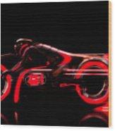 Tron Legacy Wood Print