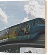 Tron Tram Wood Print