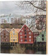 Trondheim Colors Wood Print