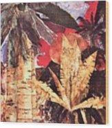 Tropic Blaze Wood Print