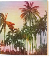Tropical 11 Wood Print