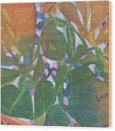 Tropical #6 Wood Print