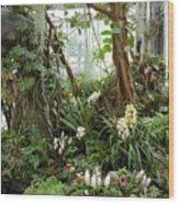 Tropical Affair Wood Print