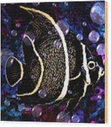 Tropical Angel Fish Wood Print