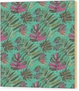 Tropical Beauty Wood Print