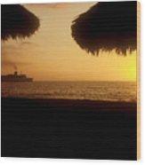 Tropical Cruise Wood Print