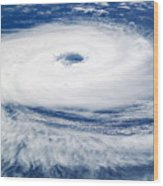 Tropical Cyclone Catarina Wood Print