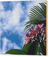 Tropical Days Wood Print
