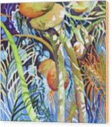 Tropical Design 2 Wood Print