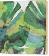 Tropical Dreams 1- Art By Linda Woods Wood Print