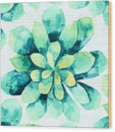 Tropical Flower  Wood Print