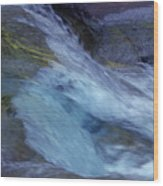 Tropical Flowing Waters  Wood Print