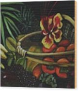 Tropical Fruit Wood Print