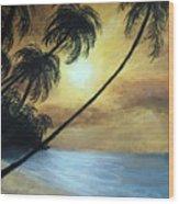 Tropical Grip Wood Print