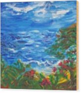 Tropical Horizons Wood Print