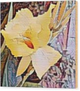 Tropical Lilly Wood Print
