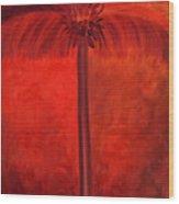 Tropical Mango Palms Wood Print