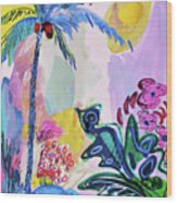 Tropical Moods Wood Print