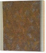 Tropical Palms Canvas Copper Silver Gold - 16x20 Hand Painted Wood Print