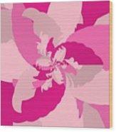 Tropical Pink Wood Print