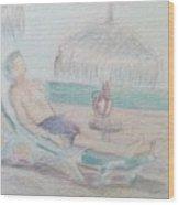 Tropical Repose Wood Print