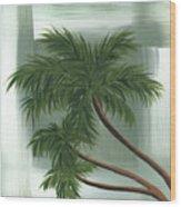 Tropical Splash 1 By Madart Wood Print