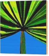 Tropical Tree Wood Print