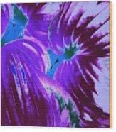 Tropical Trendsetter  Wood Print