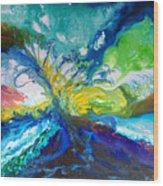 Tropical Wave Wood Print