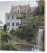 Tropican Monte Palace Garden, Madeira, Portugal. Wood Print