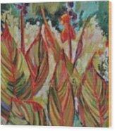 Tropicana Wood Print