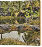 Tropics Wood Print